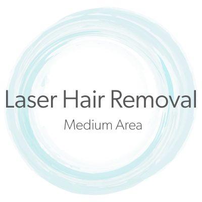Laser Hair Removal Medium Area