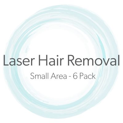 Laser Hair Removal Small Area 6 Pack