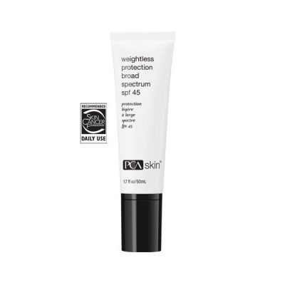 PCA Skin Weightless SPF 45