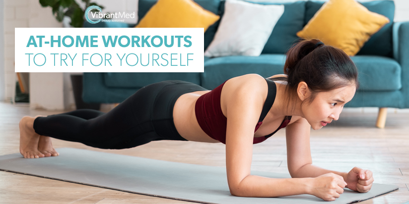 easy at-home workouts